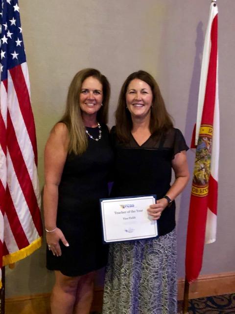 Congratulations Mrs. Fields!