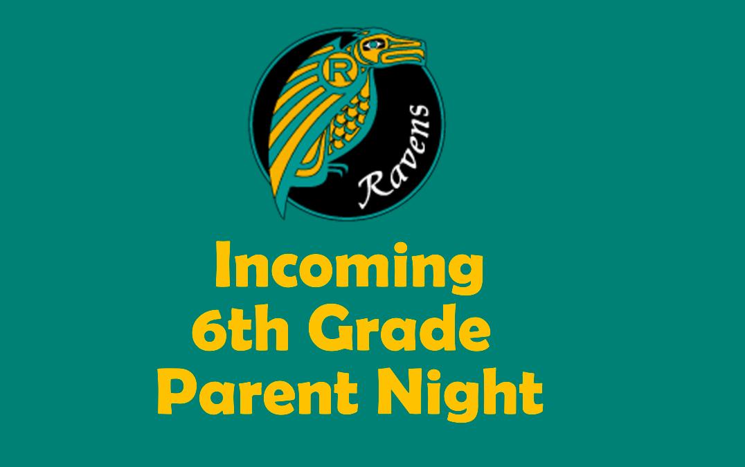 6th Grade Parent Night
